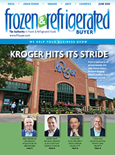 June Cover of Frozen & Refrigerated Buyer