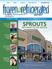 December cover of Frozen & Refrigerated Buyer magazine
